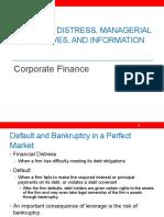 Corporate Finance Cap Structure 1
