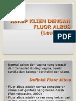 Askep Fluor Albus