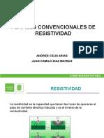 Registros Convencionales de Resistividad