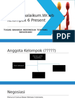 Tugas Bahasa Indonesia Negosiasi