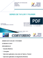 Series de Fourier y Taylor