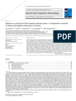 Advances in Research of Fish Immune-relevant Genes
