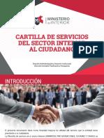 CARTILLA DE SERVICIO MINISTER
