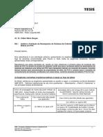 Analise e Avaliação de Desempenho Telhas PVC - NBR 9442