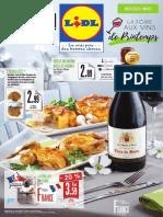 Catalogue Des Foires Aux Vins de Printemps 2016 de Lidl