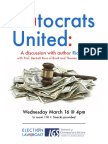 Plutocrats United flyer uc berkeley