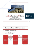 Lending Function of Banks