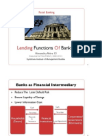 Lending Function of Banks