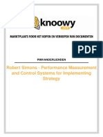 6640 06102014 Summary Performance Measurement and Control Systems for Implementing Strategy