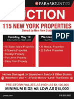 Hurricane Sandy Auction Brochure