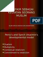 BERFIKIR SEBAGAI KEGIATAN SEORANG MUSLIM (INDO).ppt