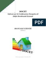 Manuale Utente Docet v3.3