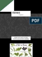 herbs powerpoint
