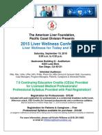 Liver Conference Flyer 2015