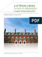 searching online journals   databases  student guide