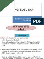Presentation Alergi Susu Sapi