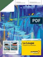 La Loupe magazine philatélique de la poste suisse