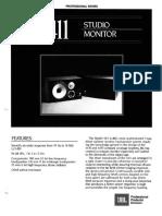 4411 Studio Monitor