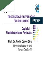 Capítulo I - Fluidodinâmica de Partículas