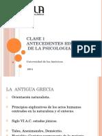 Psicologia Social y de La Comunicacion Clase 1