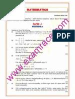 IAS Mains Mathematics 2003