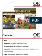 orbis economics coverage union budget 2016-17 march 7 2016