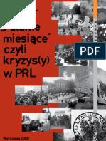 Jerzy Eisler Polskie Miesiace 2008