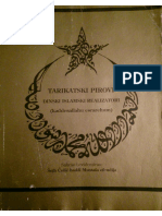 TARIKATSKI PIROVI, Dinski Islamski Realizatori (Kaddesallahu Esrarehum)
