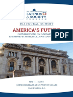 Latinos and Society Inaugural Summit Program Book