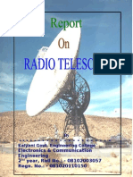 techical report-Radio telescopes