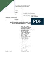 US Department of Justice Antitrust Case Brief - 00443-10143