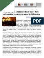 Comando Sur de Estados Unidos al borde de la confrontación con Venezuela por Neil