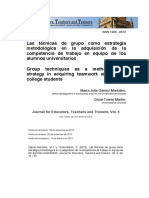 Journal for Educators, Teachers and Trainers, Vol. 4