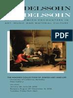 From Mendelssohn To Mendelssohn (2016) | Exhibition Texts