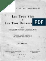Las Tres Vias y Las Tres Conversiones