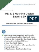 ME-311 Machine Design - Lecture 19