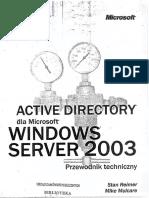 Mulcare M. - Active Directory Dla Microsoft Windows Server 2003 Przewodnik Techniczny