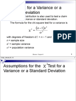 Sec 8 5 x2 Test for a Variance or Standard Deviation 1