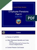 Pension Part II - Final