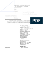 US Department of Justice Antitrust Case Brief - 00462-10980