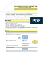 Estimation Simplifiée Des Économies d'Énergie Par Augmentation de l'Épaisseur de l'Isolant d'Une Chambre Froide.
