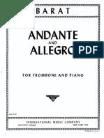 Andante and Allegro Barat