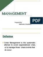 3085463 Crisis Management