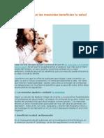 6 Formas en Que Las Mascotas Benefician Tu Salud