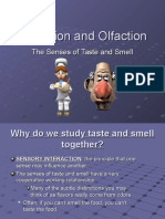 gustation and olfaction them