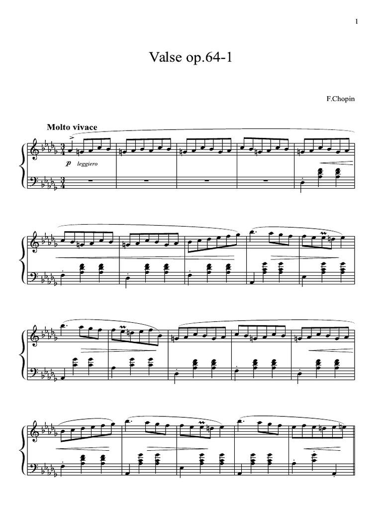 nocturne in e flat major pdf