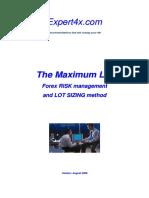 Maximum Lot Course