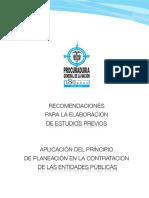 Cartilla Procuraduria Estudios Previos