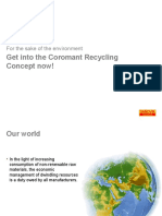 Coromant Recycling Concept Latest