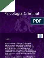 Trabalho sobre Psicologia Criminal